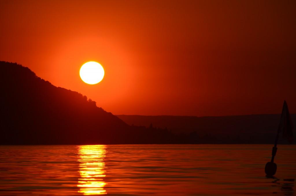 Sonnenuntergang Juli 2015