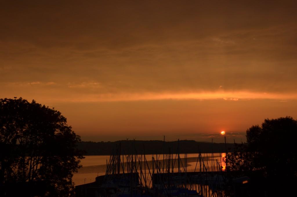 Sonnenaufgang August 2015